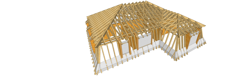 Tetőszerkezet építése, javítása